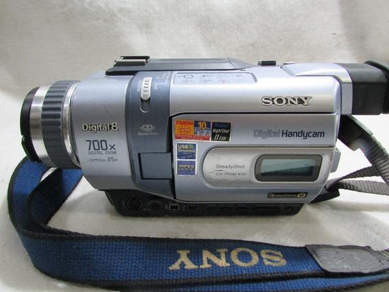 Fimadora Sony Handycam Digital 8 700x Dcr Trv340sem Garantia