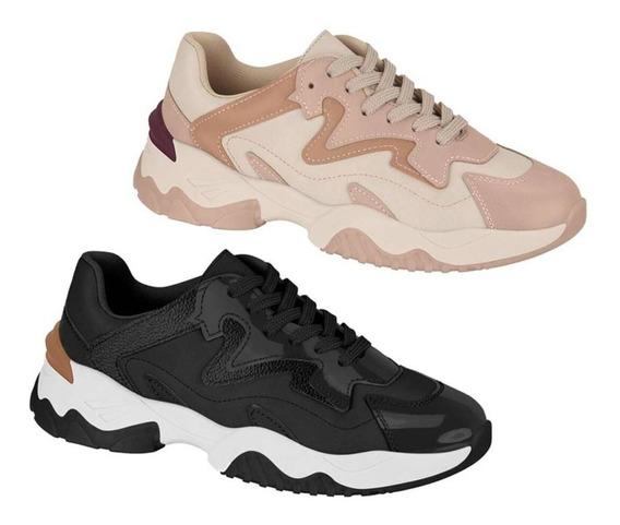 Tênis Feminino Beira Rio Conforto Chunky Sneaker - Original