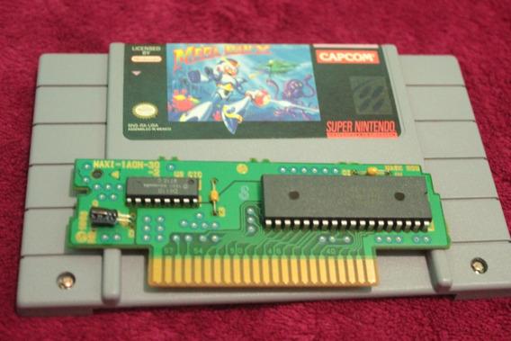 Jogo Megaman X Original Para Super Nintendo Snes Usa