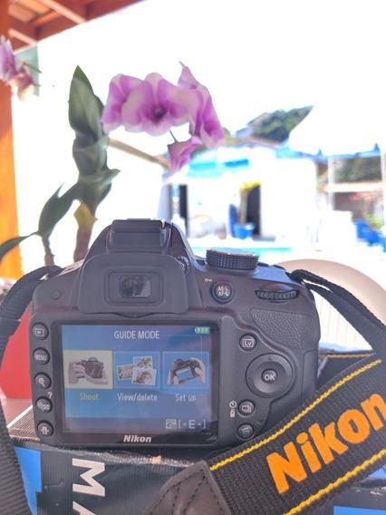 Camera Nikon D3200 Dslr Oportunidade