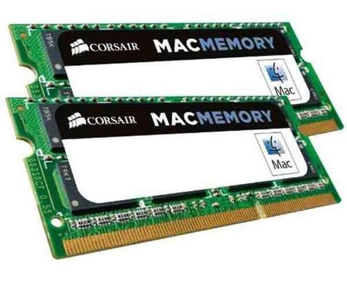 Memória 16gb Mac 2x8gb Ddr3l 1600mhz Corsair Sodimm Apple