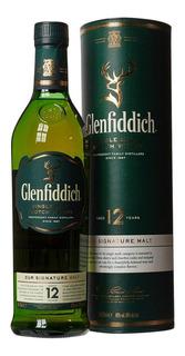 Whisky Glenfiddich 12 Años Single Malt 750ml Botella Estuche