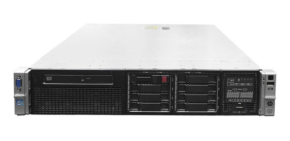 Servidor Hp Dl380 G8 - 2x Xeon E5 (2690) 96gb 300gb - Usado