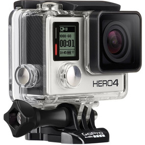 Gopro Hero4 Silver Completa + Kit De Acessórios Super Nova