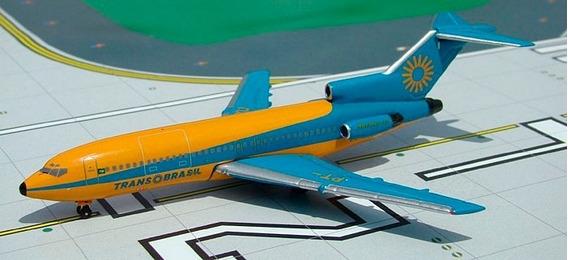 Boeing 727 Transbrasil - Aeroclassics 1/400 - Pt-tyu - Raro
