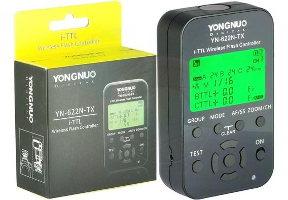 Rádio Flash Yongnuo Yn 622n Tx I-ttl Para Nikon