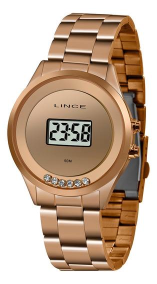 Relógio Lince Feminino Digital Rose Sdr4610lbxrx