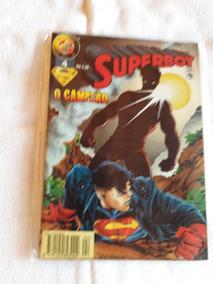 Gibi Super Boy Raro Antigo N°4 O Campeão R1