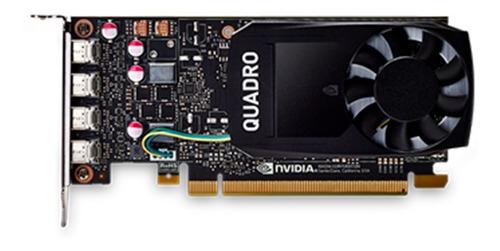 Imagen 1 de 6 de Placa De Video Nvidia 4gb Pny Quadro P1000 Ddr5