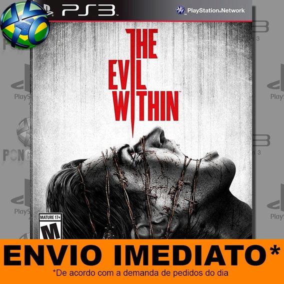 Jogo The Evil Within Ps3 Digital Psn Envio Imediato