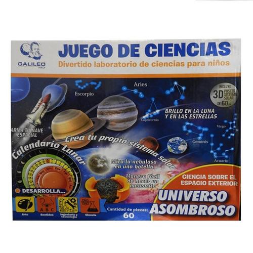 Galileo Juego De Ciencias Universo Asombroso Jc-1004