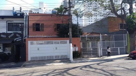Sobrado Na Vila Clementino - Residencial Família Numerosa Ou Comercial. Ensolarada, Espaçoso, 5 Vagas Ou Mais - So0460