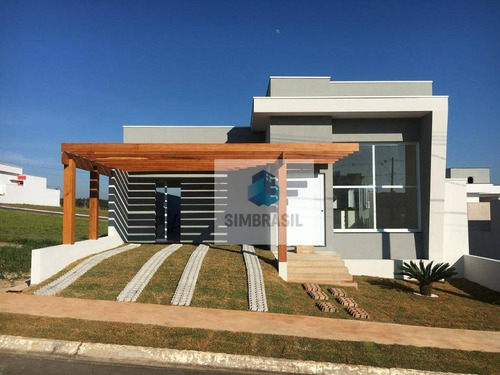 Imagem 1 de 21 de Linda Residencia Condomínio Gaivotas - Monte Mor - Ca1243