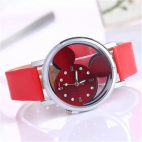 fe3c5a10f Reloj Rojo Minnie Mouse en Mercado Libre México