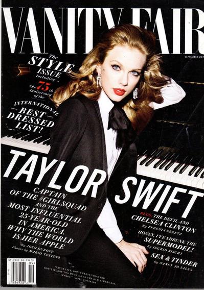 Vanity Fair Revista - Taylor Swift By Mario Testino