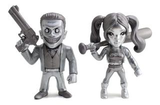 Figura Metal Joker Boss Harley Quinn Die Cast