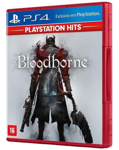 Bloodborne 100% Em Portug. - Ps4 - Mídia Física E Original