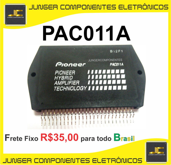 Pac011a - Pac011 - Autêntico Para Receiver Pioneer Vintage