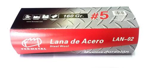 Lana De Acero N° 5 De 160 Gramos - 168959