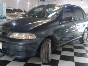 Fiat Palio 1.6 Elx 2003 Gris Oscuro Pp