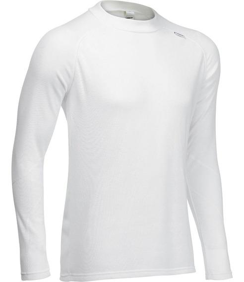 Blusa Frio Masculina Segunda Pele Isolamento Térmico Branca