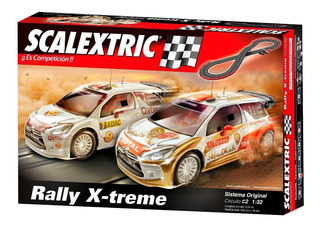 Scalextric Scx Pista Original C2 Rally X-treme Set 5.22 Ofi