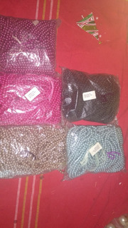 Cadena De Perlas De 6 Mm Paquete De 12 Collares De Perlas