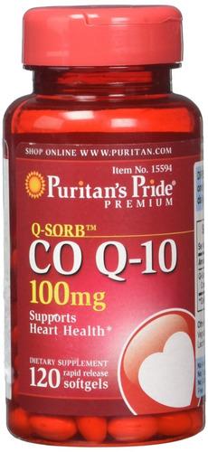Coenzima  Co Q10 100 Mg Antioxid Corazon - L a $517