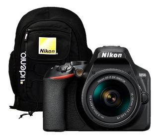 Cámara Nikon D3500 + 18-55mm + Mochila Nikon + Memoria 32gb