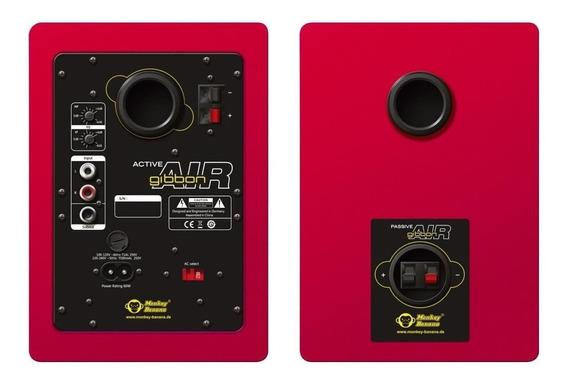 Monitores De Estudio Mokey Banana Gibbon Air 4 Rojo 30w