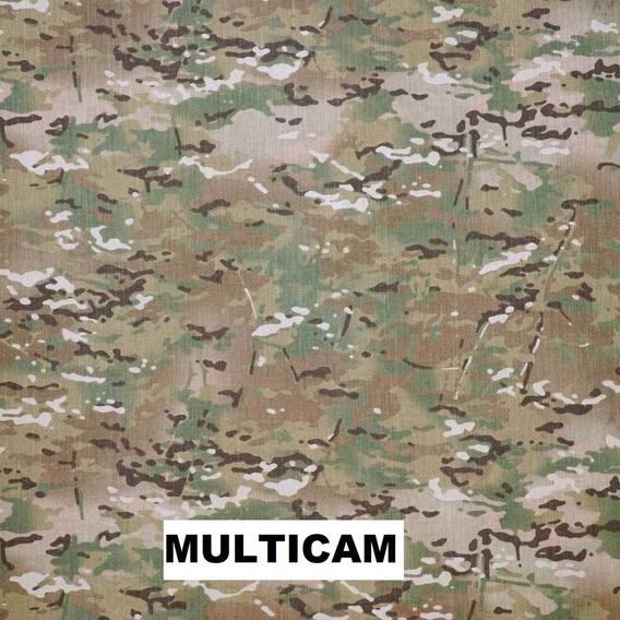 Tela Rip Stop Antidesgarro Camuflado Multicam
