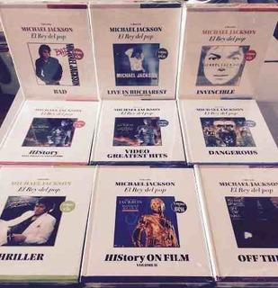 Audiolibros De Michael Jackson ( Cd / Dvd + Libro Original)
