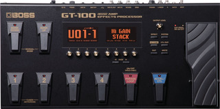 Boss Gt100 Pedalera Multiefectos Para Guitarra Eléctrica