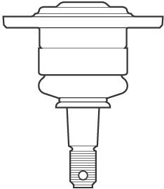 Rotula Superior Chevrolet S10/blazer 1996-2012