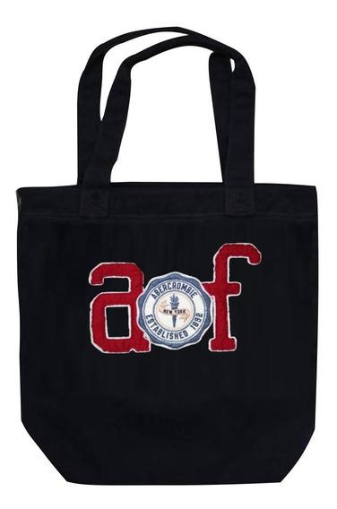 Bolsa Abercrombie & Fitch Azul Com Af Em Red 100% Original