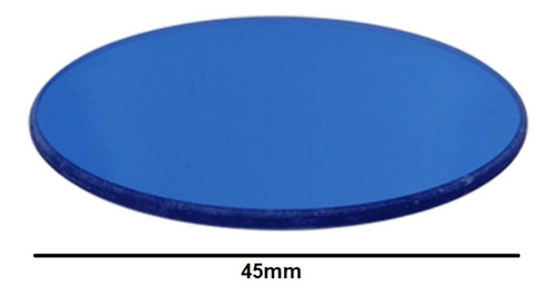 Filtro Lente Azul 79090 45mm Para Microscópio Ci-s 50i E200