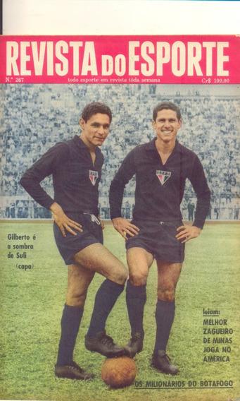 Revista Do Esporte Nº 267 - 18.04.64 - Pôster Do Fluminense