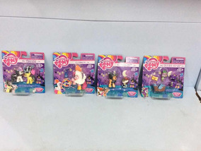 My Little Pony Miniatura Ref B7821 Combo Com 4 Un