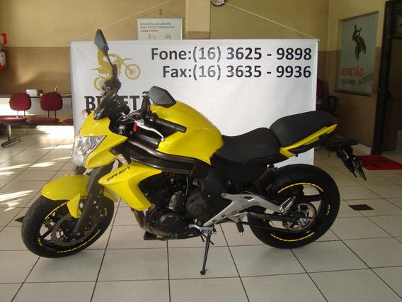 Kawasaki Er6 650 N Amarelo 2013