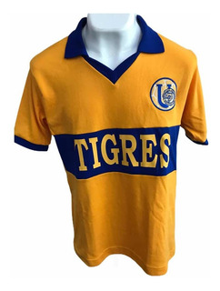Fantástico Jersey Retro De Los Tigres Uanl