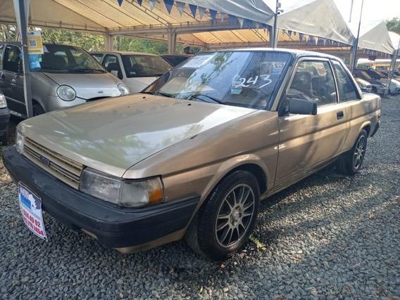 Toyota Tercel Motor 1.5 1989 Champaña 3 Puertas