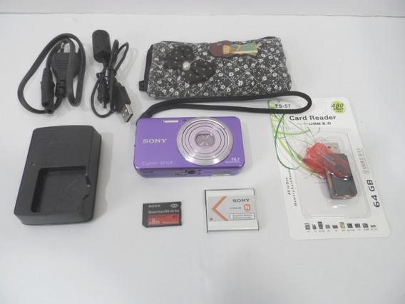 Camera Sony Cybershot W630 16mp Barata Oferta+ Brindes