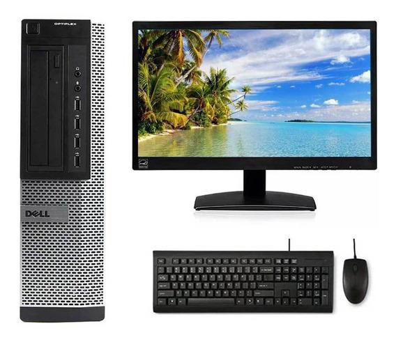 Cpu Dell Core I3 2º 4gb 500gb Wi-fi + Monitor 20