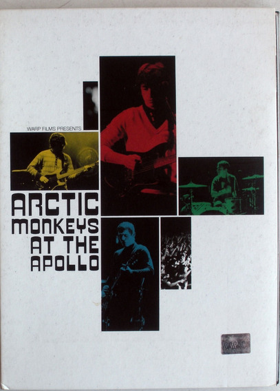 Dvd - Artic Monkeys At The Apollo - Booklet - Digipack