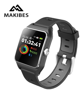 Relógio Inteligente Makibes Br3 Gps-strava Esporte