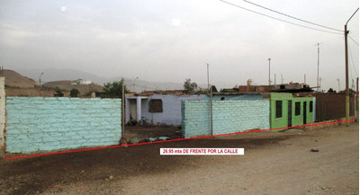Carabayllo Terreno 1,541 M². 2 Frentes. $120/m2. Negociable.