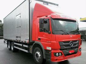 Mb Atego 2426 6x2 Completo Condições Especiais 1° Caminhão