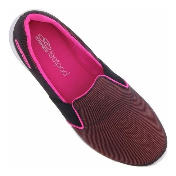 Tenis Olympikus Feminino Love Feetpad Leve Macio Confortável