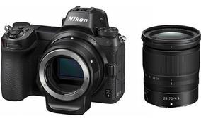 Nikon Z7 Mirrorless Camera Com Lente 24-70 E Adaptador Ftz