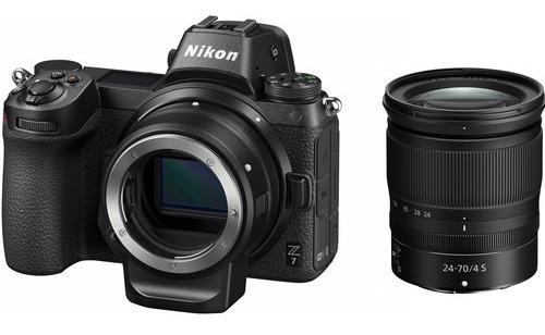 Nikon Z7 Mirrorless Camera Lente 24-70 E Adaptador Ftz Kit